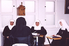 Four Sisters in classroom