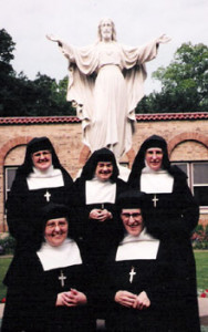 Sacred Heart and Sisters Outdoors