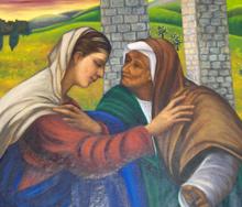 Visitation Painting